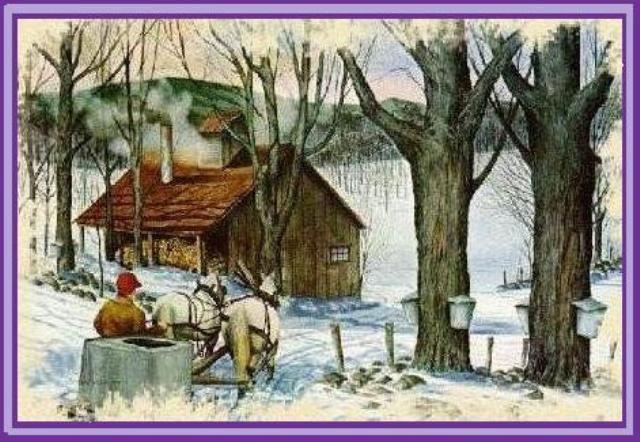 La cabane sucre centerblog - Dessin de cabane ...